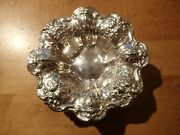 Vintage Reed And Barton Sterling Silver Francis I X569f Footed Candy Dish, Bowl