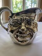 Reed And Barton Sunny Jim Double Face Water Pitcher 5640 Vintage Silver Plate
