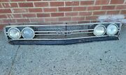 1968 Ford Torino Gt Grille With Emblem Lights