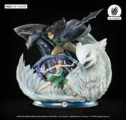Statue Fairy Tail - Gajeel And Wendy Hqs+ By Tsume