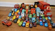 Disney Pixar Cars Different Character Huge Lot 60+ Fast Shipping