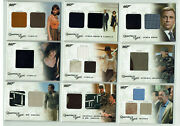 James Bond Archives 2009 Complete 27 Card Relic Costume Set Qc01 To Qc27 058/