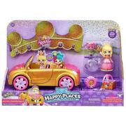 Shopkins Happy Places Royal Trends Convertible Car Play Set Toy