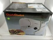 Chef's Choice 609 Electric Meat Slicer New