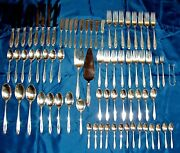 Prelude By International Sterling Silver Flatware For 8 - 76 Pc. 1820+ Scrap