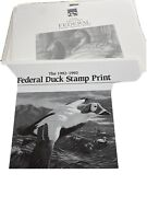 Federal And State Duck Stamp Print Lot 65 Total- Assorted Artists 1982-1997