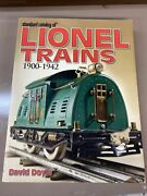 Standard Catalog Of Lionel Trains By David Doyle 1900-1942 2005 Mint Condition