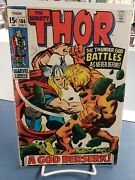 The Mighty Thor 166. 1969. Nice Silver Age Copy