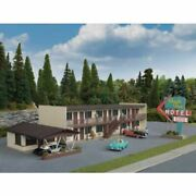Walthers 933-3488 - Vintage Motor Hotel  - Ho Scale Kit