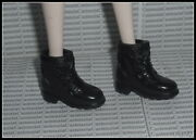 Shoes Barbie Doll Twilight Eclipse Victoria Black Faux Laced Boots Accessory