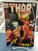 Thor 165. 1st Him. Beautiful Silver Age Copy
