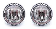 Pair Fog Light Assemblies For 2002-2005 Ford Thunderbird Convertible And More