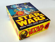 Star Wars Topps Trading Cards Series 2 Complete Box With 36 Sealed Packs 1977