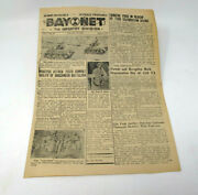 Korea Army 7th Infantry Division Bayonet June 8 1954 Newspaper Red Hots Jazz