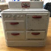 Vintage 1950s Marx Toy Co Pretty Maid Oven Great Shape Usa Wow