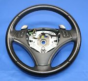 Driver Side Sport Steering Wheel Leather Button Oem Bmw E88 E92 E93 Paddle Shift