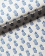 Serena And Lily Isla Pineapple French Blue Wallpaper Double Roll Sealed Wppr6002