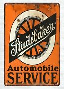 Outdoor Art Stores Plaque Studebaker Service Station Metal Tin Sign