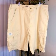 Vintage Polo Mens Size 42 Authentic Military Trouser Cargo Shorts