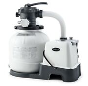 Intex Krystal Clear Sand Filter Pump And Saltwater System 26675 110120v With Gfc