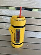 Disney Parks Monsters Inc Scream Canister Water Bottle Makes Sound Nwt