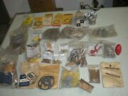 Large Lot Of Lombard Chainsaw Parts - Nos