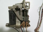 Gray Payphone Bent Magnet Coin Relay Post Pay Antique Telephone Vintage Stowger