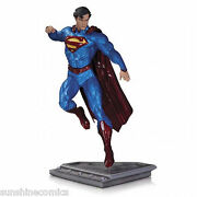 Superman The Man Of Steel Statue Kenneth Rocafort Dc Collectibles New Sealed