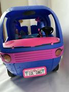 Lol Surprise Omg 4-in-1 Glamper Fashion Camper With 55+ Surprises, Electric Blue