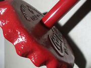 Coca-cola Embossed Base Bottle Cap Vending Machine Stand Gumball Candy Diner