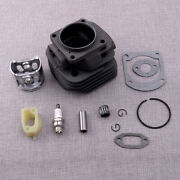 Big Bore 52mm Cylinder Piston Kit 503517502 Fit For Husqvarna 266xp Chainsaw Use