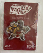 Sdcc Exclusive Overwatch Gold Golden Doomfist Payload Tour Pin Blizzard 2018