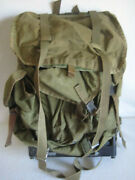 Us Military Combat Field Pack Rucksack Backpack With Metal Frame