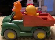 Kids Toy Truck John Deere Learn Farm Friends For Young Toddlers Missing 1 Vg