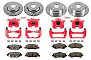 Power Stop Kc2832a-36 Truck And Towing Z36 Brake Upgrade Kit Cross-drilled And S
