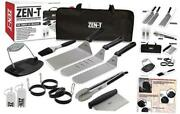 - 14 Piece Grill Griddle Bbq Tool Kit - Heavy Duty Professional Grade