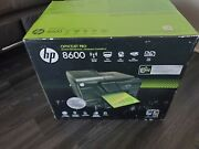 Hp Officejet Pro 8600 E All In One Wireless Color Printer - Black