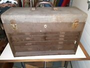 Vintage Kennedy Kits 520 Machinists 7 Drawer Toolbox
