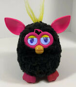 2012 Furby Boom Interactive Toy Black And Hot Pink Tested And Working