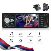 Digital Screen Car Radio 1 Din 4.1in Mp5 Player Plastic Bluetooth Support Device