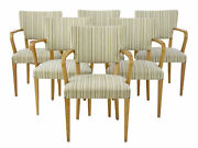 Harlequin Set Of 6 Swedish 1960and039s Armchairs By Atvidabergs