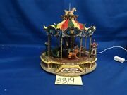 Lemax Village Collection Bellmont Carousel 44171 As-is 3319