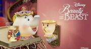 New Scentsy Beauty And The Beastandrsquos Mrs. Potts Warmer And Chip Mini Warmer Wax