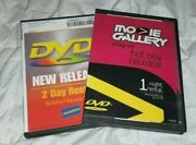 Saw And Blade Dvd Blockbuster And Movie Gallery Rental Discs W/ Case Last Not Vhs