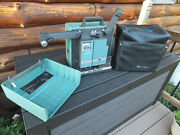 Vintage Bell And Howell 1592 Filmosound 16mm Film Movie Projector W/ Cover - Works