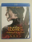 The Hunger Games Complete 4-film Collection Blu-ray No Digital