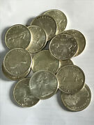 Canada Silver Dollars Circulated Random From 1964 And03965 And03966. 25.00 Each