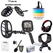 Deep Ground Waterproof Metal Detector Gold Finder,lcd Display Shovel-search-coil