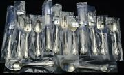 Towle Sterling Silver Old Master Flatware Set New Old Stock Nos - Never Opened