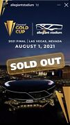 4 Tickets For The Sold Out Concacaf Gold Cup Finals Andldquo Copa De Oroandrdquo.
